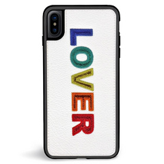 ZG Embroidered Case for iPhone X/Xs - Lover