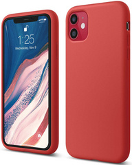 ELAGO Silicone Case for iPhone 11 - Red