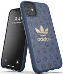 Adidas Moulded Case for iPhone 11 - Shibori Blue