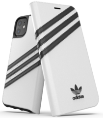 Adidas Booklet Basic Case for iPhone 11 - White