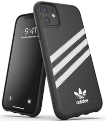 Adidas Moulded PU Case for iPhone 11 - Black