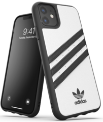 Adidas Moulded PU Case for iPhone 11 - White