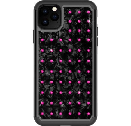 BMT Extravaganza Nacre case for iPhone 11 PRO - Neon Pink