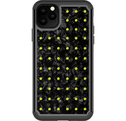 BMT Extravaganza Nacre case for iPhone 11 PRO Max - Neon Yellow