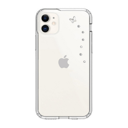 BMT Papillon Clear case for iPhone 11 - Crystal