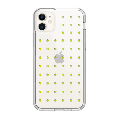 BMT Extravaganza Clear case for iPhone 11 - Neon Yellow
