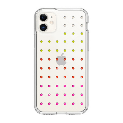 BMT Extravaganza Clear case for iPhone 11 - Neon Gradation