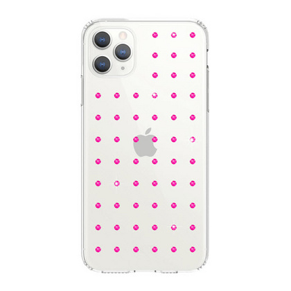BMT Extravaganza Clear case for iPhone 11 PRO Max - Neon Pink