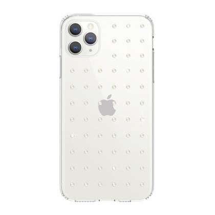 BMT Extravaganza Clear case for iPhone 11 PRO - Neon White