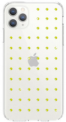 BMT Extravaganza Clear case for iPhone 11 PRO Max - Neon Yellow