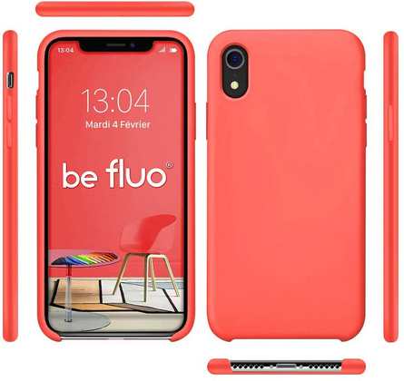 Moxie Original Silicone Case for iPhone Xr - Fluo Rose