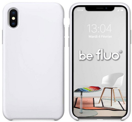 Moxie Original Silicone Case for iPhone X/Xs - White