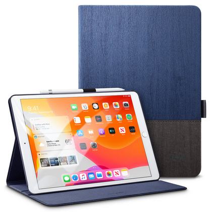 Sdesign Simplicity Case for iPad 10.2'' 2019 - Black/Blue