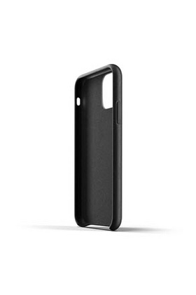 MUJJO Full Leather Case for iPhone 11 - Black
