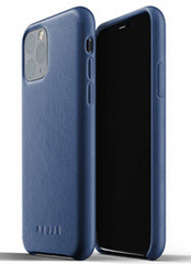 MUJJO Full Leather Case for iPhone 11 Pro Max - Monaco Blue