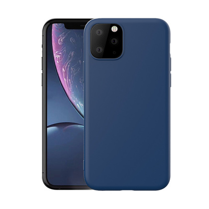 Original Silicone 360° Case for iPhone 11 PRO Max - Dark Blue