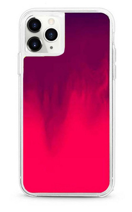 Sdesign Sand Case for iPhone 11 PRO Max - Neon Pink