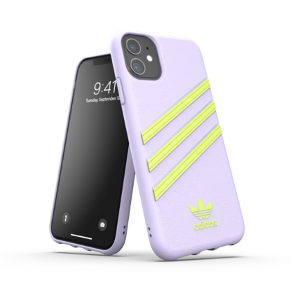 Adidas Moulded PU Case for iPhone 11 - Purple