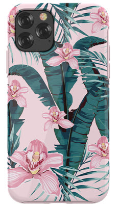 DEVIA Flowers Case for iPhone 11 PRO - Pink