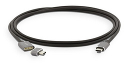 LMP Magnetic Breakaway charging cable 1.8 m - Space Gray