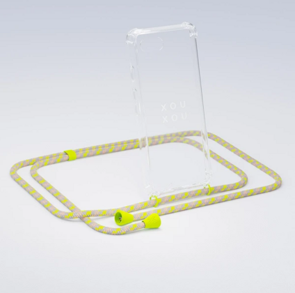 Xouxou Necklace Case for iPhone 7/8 - Neon Yellow