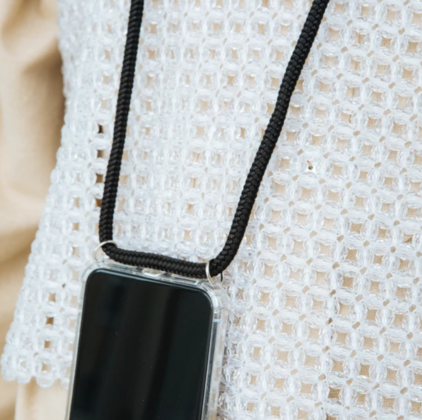 Xouxou Necklace Case for Xs Max - Black