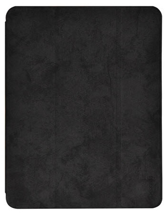 Comma Swan iPad 12.9'' 2020 Case with Apple Pen holder - Black