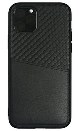 Carbon pocket case for iPhone 11 PRO - Black