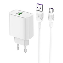 HOCO Qualcomm 3.0 Wall charger with USB-C cable