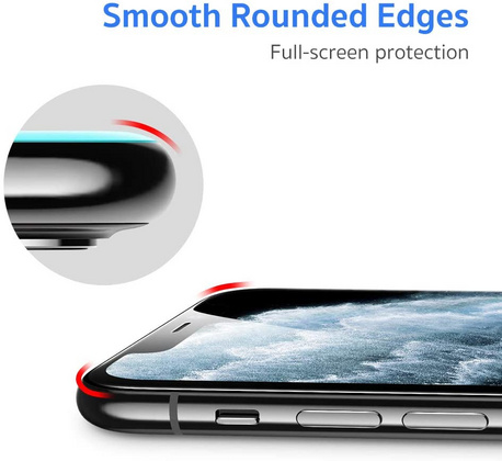ESR 2pack 3D Curved Tempered Glass with installation tool