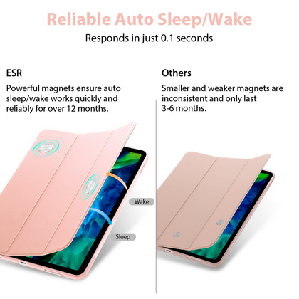 Sdesign Silicone Case for iPad Pro 11'' 2020 - Rose Gold