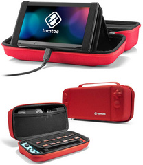 TomToc Nintendo Switch Travel Case - Red