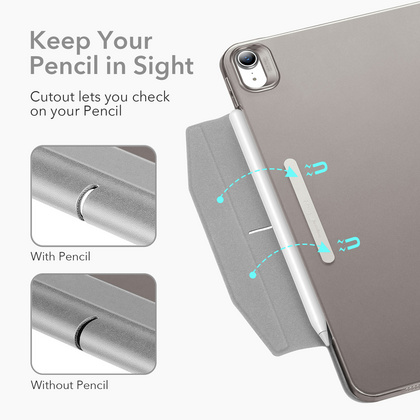 Sdesign Yippee Case for iPad Air 4 (2020) - Silver