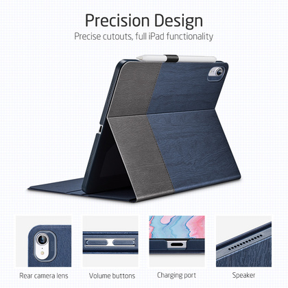 Sdesign Simplicity Case for iPad Air 4 - Black/Blue