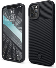 ELAGO Cushion Case for iPhone 12/PRO - Black