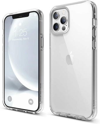 ELAGO Hybrid Case for iPhone 12/PRO - Clear