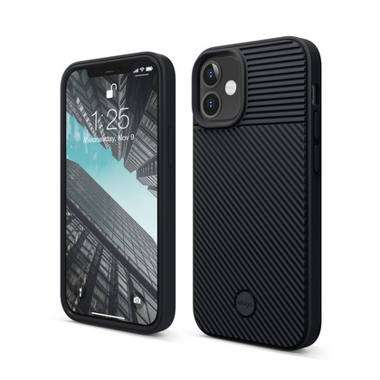 ELAGO Cushion Case for iPhone 12 Mini - Black
