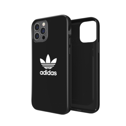 Adidas Glossy Case for iPhone 12/PRO - Black
