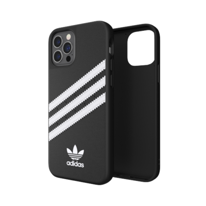 Adidas Moulded Case for iPhone 12 PRO Max - Black|White
