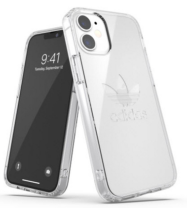 Adidas Entry Case for iPhone 12 Mini - Clear