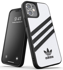 Adidas Moulded Case for iPhone 12 Mini - White