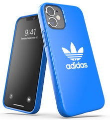 Adidas Glossy Case for iPhone 12 Mini - Blue