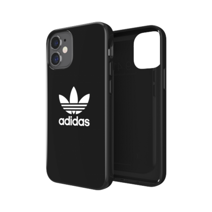 Adidas Glossy Case for iPhone 12 Mini - Black