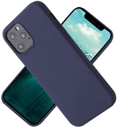 Original Silicone Case for iPhone 12 PRO Max - Midnight Blue
