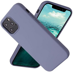Original Silicone Case for iPhone 12/PRO - Lavanda Gray
