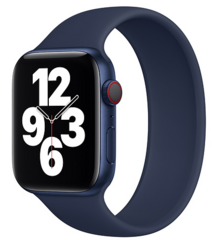 Sdesign Silicone Loop Strap 42 | 44 mm - Dark Blue