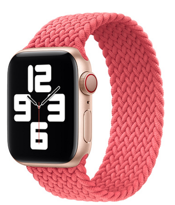Sdesign Braided Loop Strap 38 | 40 mm - Pink