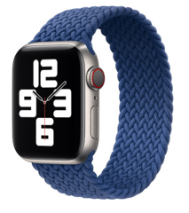 Sdesign Braided Loop Strap 42 | 44 mm - Blue
