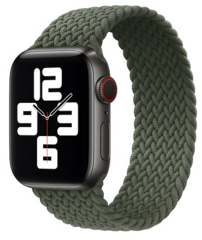 Sdesign Braided Loop Strap 42 | 44 mm - Green