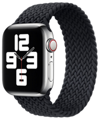 Sdesign Braided Loop Strap 42 | 44 mm - Black